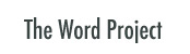 Word Project button